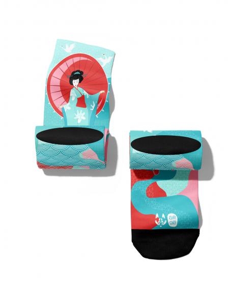 Akira pattern socks